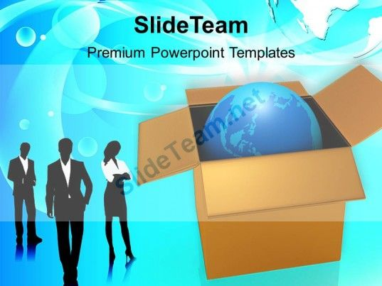 130 best business concepts powerpoint templates themes backgrounds business team with globe in box powerpoint templates ppt themes and graphics 0213 powerpoint toneelgroepblik Gallery