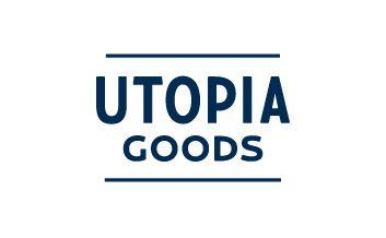 Utopia Goods branding by Deuce Design.