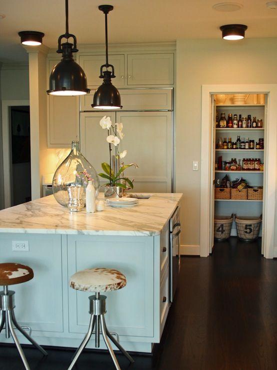 Kitchens, Kitchen Decor, Interiors, Home Decor · Cow HideKitchen Lighting  DesignDesign ...