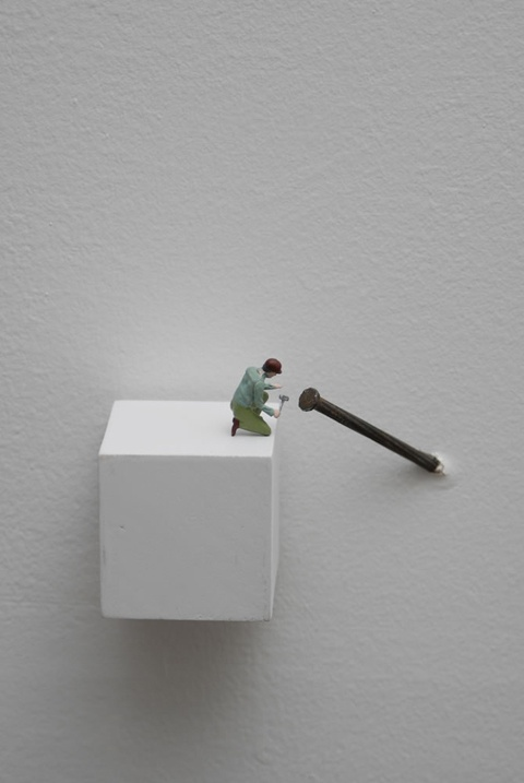Lilian Porter -- my fascination with the miniature world continues.