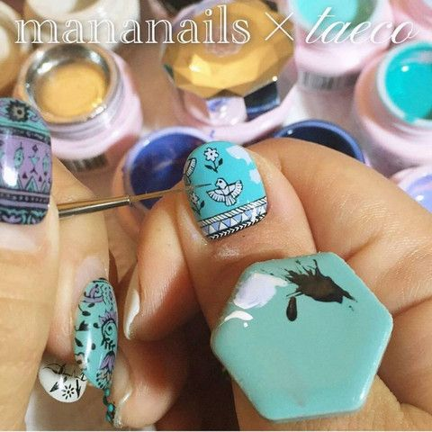 47 best nail art tools images on pinterest ps shops and bling daily charme japanese nail art supply nail partner mananails x taeco tile palette ring blue prinsesfo Choice Image