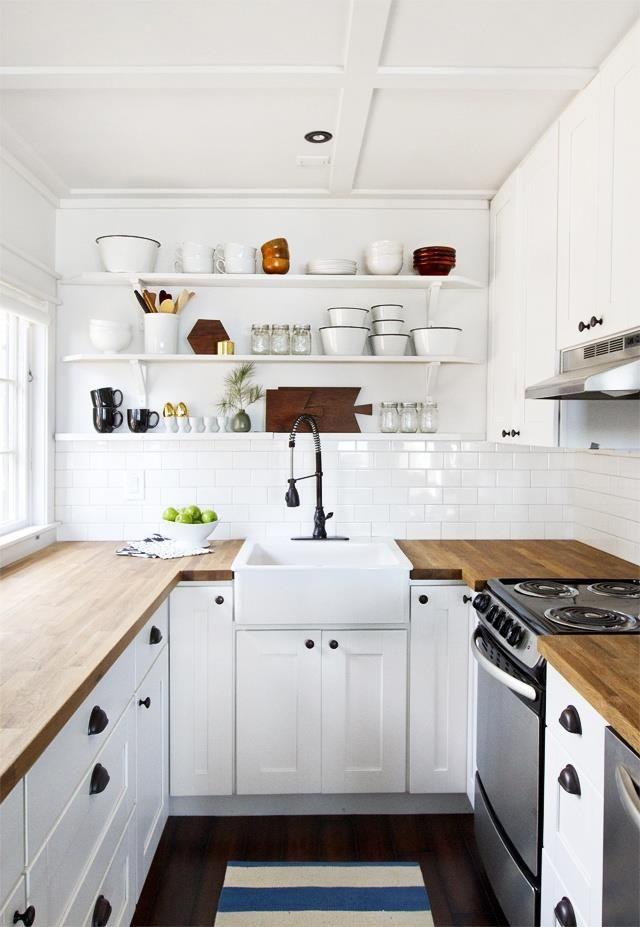 Cozinha clean, fondo el aguamanil