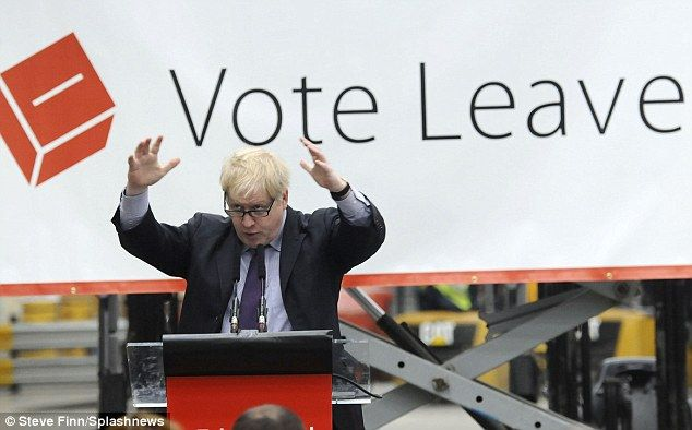 Boris Johnson used his first major speech of the EU referendum campaign on Friday to set ...