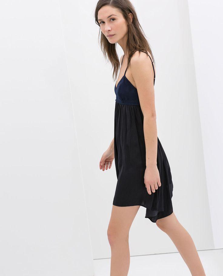 BUSTIER DRESS from Zara