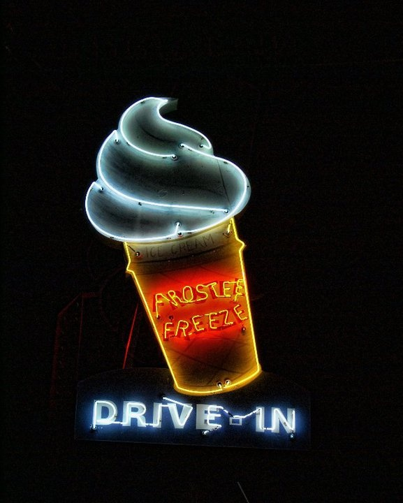 old neon signs