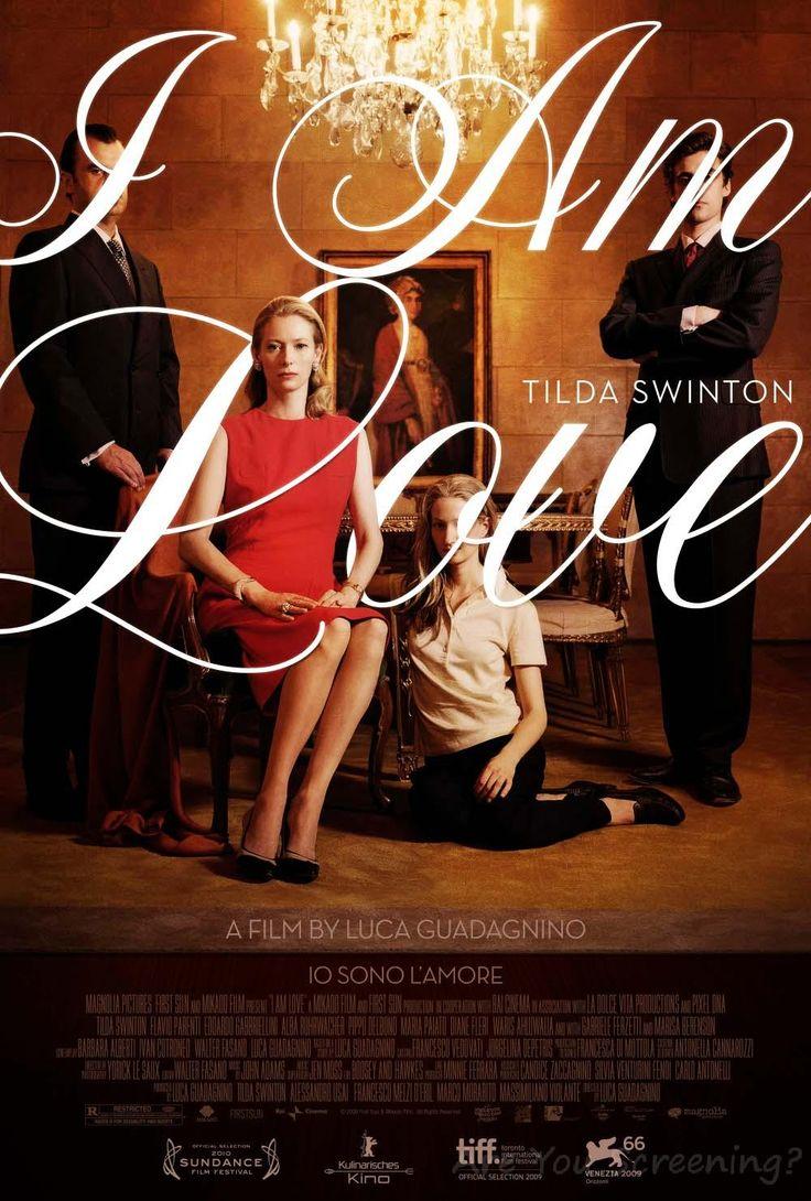 Tilda Swinton, wears fabulous designer fashions in this romantic thriller, 'I am Love'.