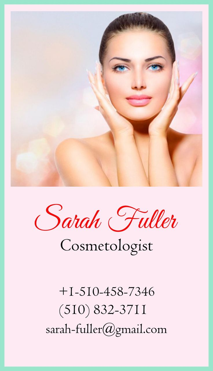 Would you visit the cosmetologist with such a card? Find more beautician business cards: http://business-card-maker.com/beautician-business-cards.php and see for yourself that looks matter in the beauty industry. #BeauticianBusinessCards #CardDesign