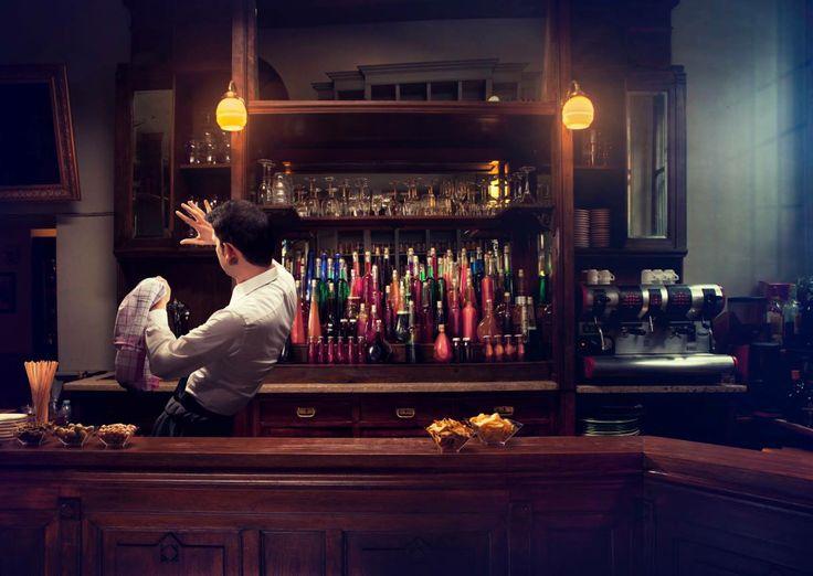 Client : SKY //  Agency : United 1860 // copyrighted GIACOMO BIAGI #sky #bar #football