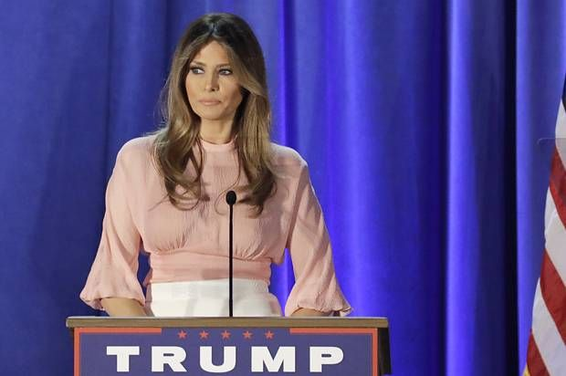Melania, unmuted: Melania Trump gave a speech using her own words — which only reminded us why women can't relate to her:  In her first speech since her plagiarized address at the Republican convention, Melania was laughably out of touch