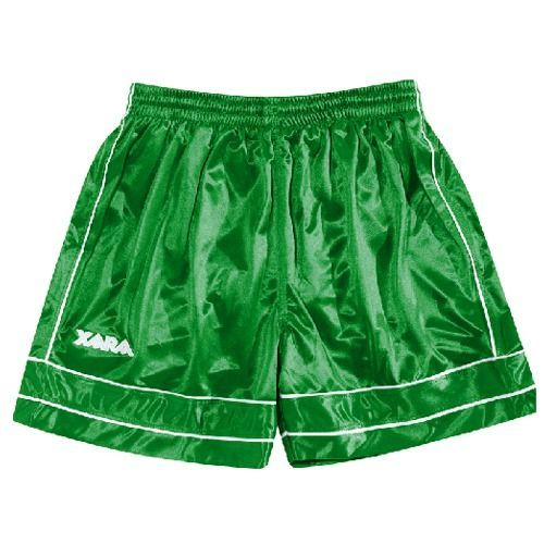Xara Albion Soccer Shorts - model 2066 Green/White - Large: These Xara… #SoccerGear #SoccerCleats #GolakeeperGloves #adidasSoccerJerseys