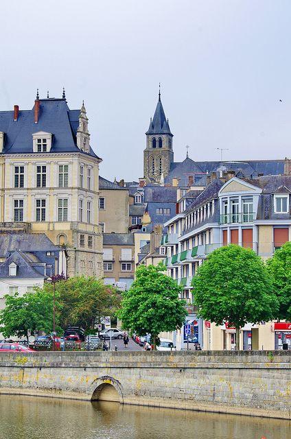 Cathédrale de la Sainte Trinité de Laval, Pays de la Loire, France