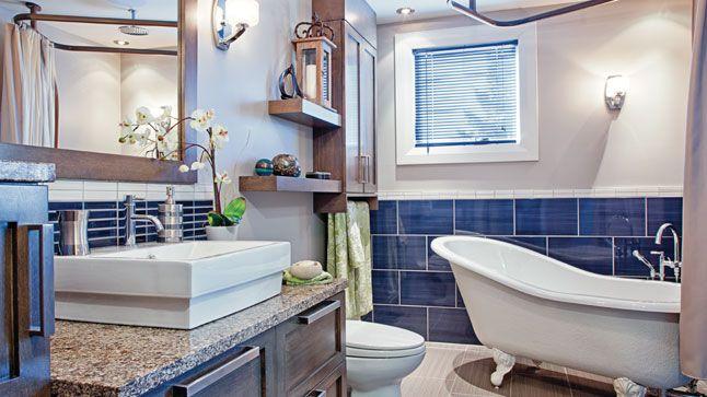 15 best salles de bain de r ve images on pinterest dream bathrooms my house and modern. Black Bedroom Furniture Sets. Home Design Ideas