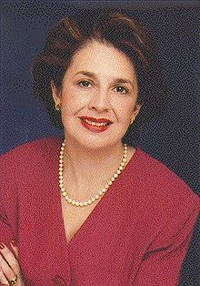 Aída Álvarez - the first Hispanic woman and Puerto Rican to hold a United States Cabinet-level position.