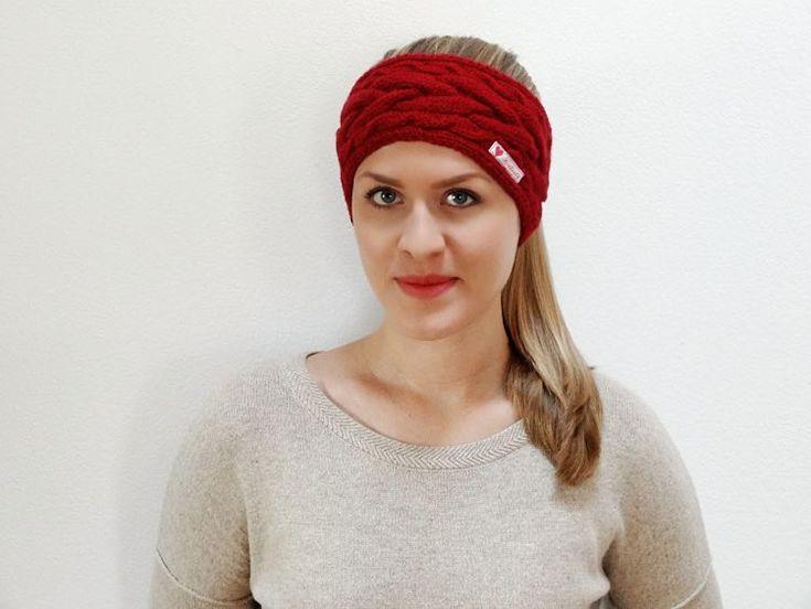 DIY-Anleitung: Stirnband mit Zopfmuster stricken via DaWanda.com