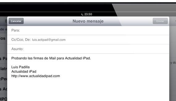 Crear firmas para cada cuenta de Mail - http://macpedia.me/2013/01/10/crear-firmas-para-cada-cuenta-de-mail/ -  Seguimos profundizando en las funciones de iOS 6, y más concretamente en las opciones que nos brinda Mail, la aplicación de correo electrónico que por defecto viene en iOS, y que aunque no es perfecta, ni mucho menos, sí que es cierto que nos ofrece muchas opciones que bien conocidas la... - Luis Padilla