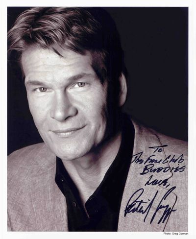 Patrick Swayze, actor, dancer, singer-song writer 1952-2009