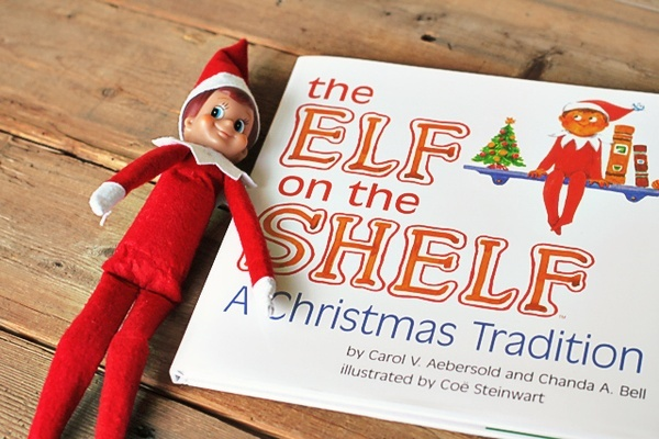Elf on the Shelf. Best holiday entertainment for the kids :)