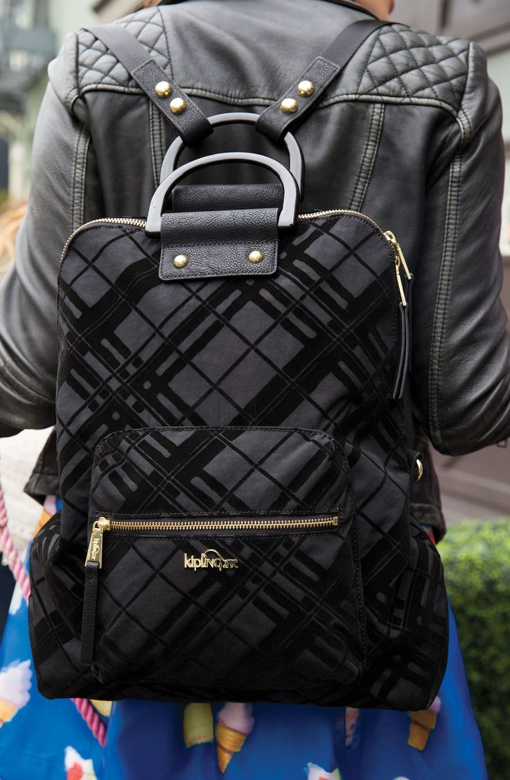 25 best ideas about kipling backpack on pinterest school handbags - Wear It To Work As A Chic Backpack And Then Swap The Strap Placement To Switch It To A Handbag Silhouette For A Dinner Date