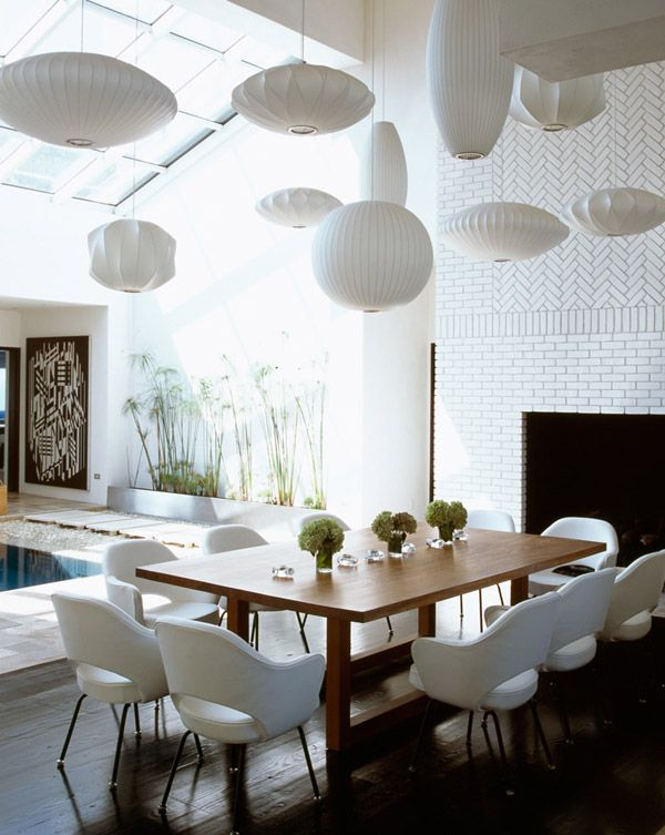 492 best modern dining rooms images on pinterest for Modern dining room design