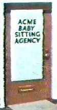 ACME Pouponnière Agence de gardiennes de bébé (Baby Sitting Agency)