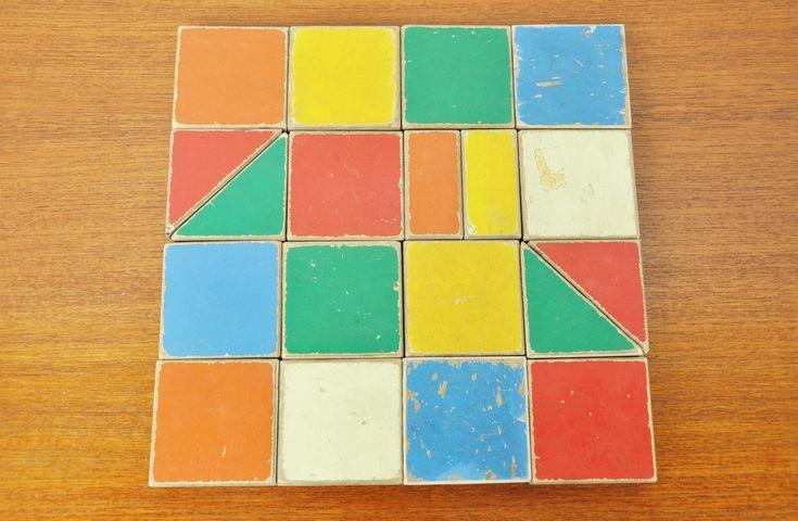 ADO Ko Verzuu puzzle box 1950 - Via Mid Mod Design