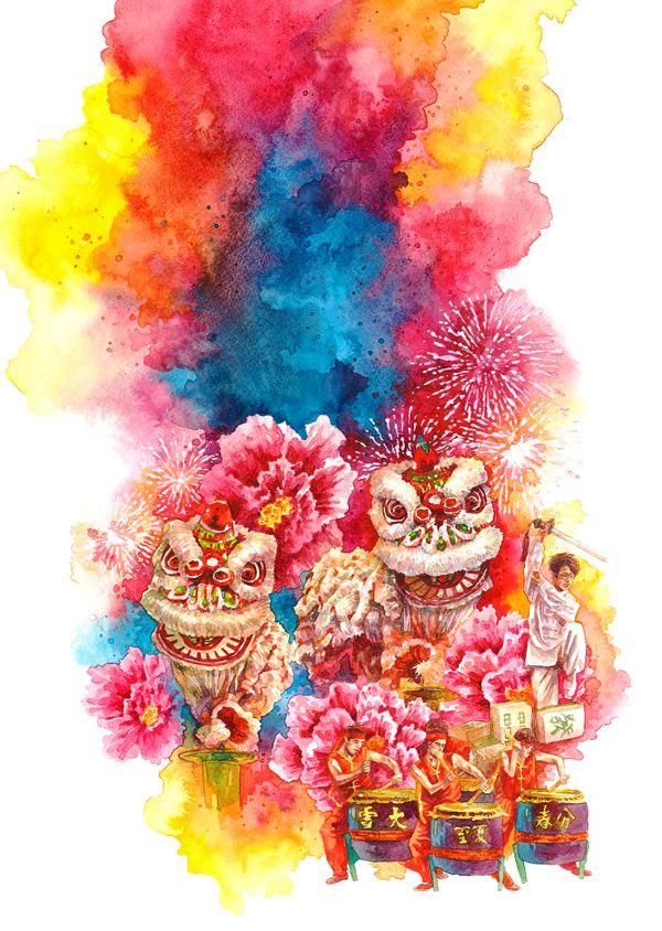 2013 Chinese New Year Illustration on Behance