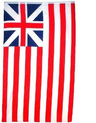 Grand Union HISTORICAL Flag - 3 foot by 5 foot Polyester (NEW) by Other Flags. $2.18. Express International Shipping is Global Express Mail (2-3 days). 3 Foot by 5 Foot, Indoor-Outdoor, Lightweight Polyester Flag with Sharp Vivd Colors. Express Domestic Shipping is OVERNITE 98% of the time, otherwise 2-day.. 2 Metal Grommets For Eash Mounting with Canvas Hem for long lasting strength. FAST SHIPPER: Ships in 1 Business Day; usually the Same Day if pmnt clears by noon C...