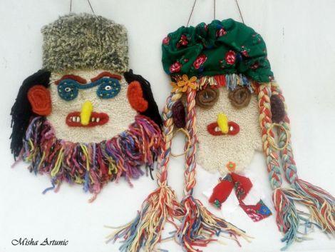 Masca decorativa - Baba Lelea