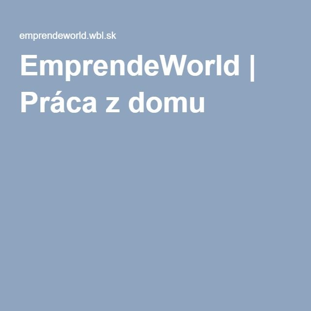 """Emprende World"" simple and powerful system !!! The fastest growing network program !! Low cost - high profits! http://goo.gl/vd2jRR"