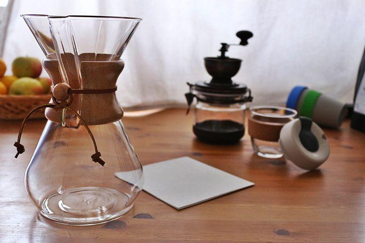 Make :coffee: with #Chemex by #Kavala