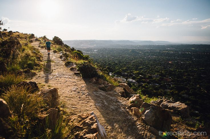 The kids on Northcliff Hill. Johannesburg has the largest man-made urban forest in the world