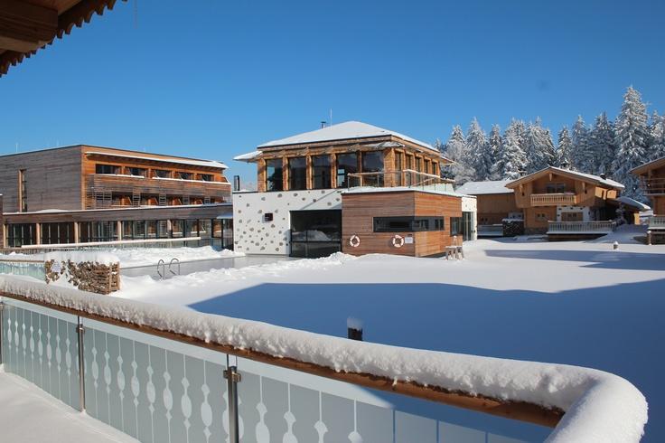 INNs HOLZ Chalet im Winter - Wellness & Aktivurlaub im eigenen Chalet
