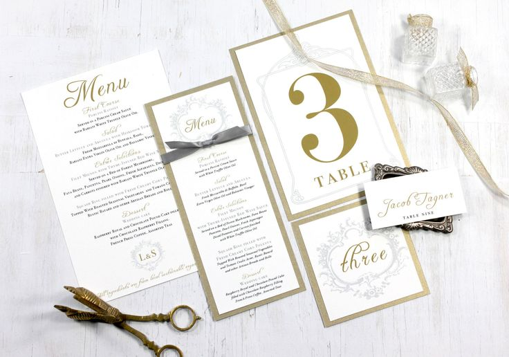 17 Best Images About Menu Cards On Pinterest