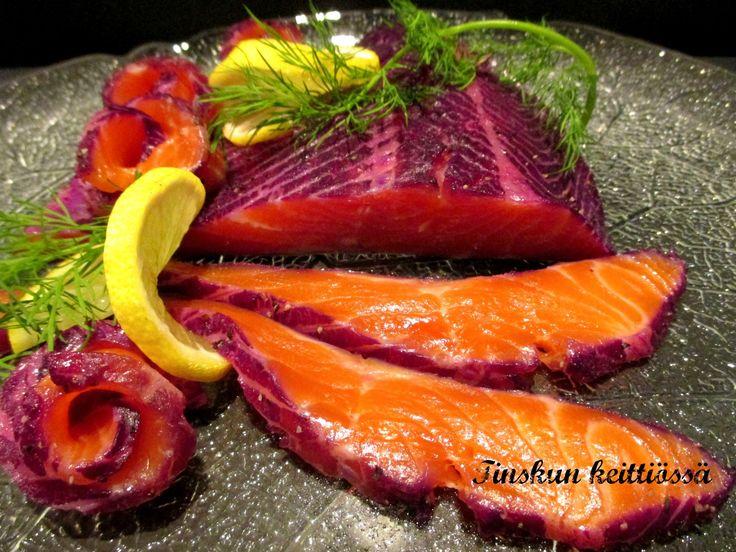 Punakaali graavattu lohi Chef Jason Howard'in tapaan: Tinskun keittiössä