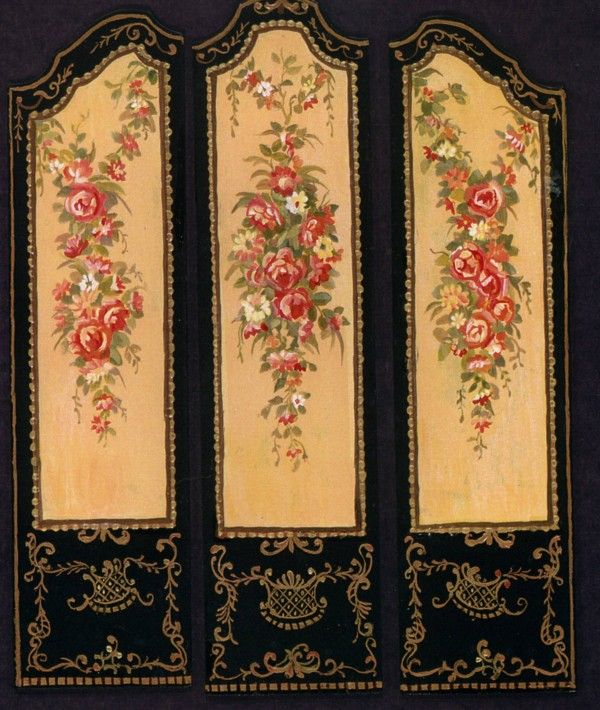 Photo: Floral Screen. $20