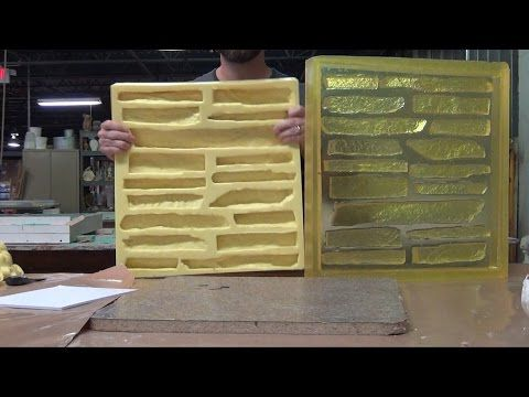 How To Make A Rubber Mold To Cast Concrete Pavers Stepping