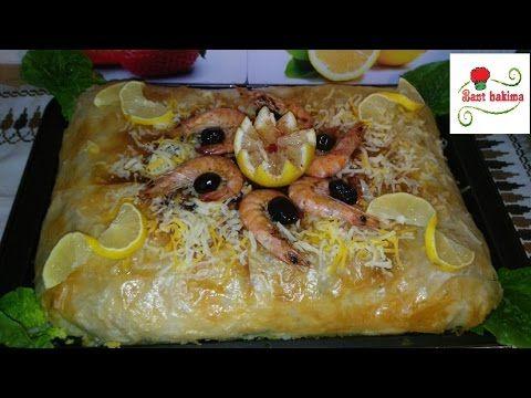 طريقة عمل بسطيلة الحوت المغربية الشهية للأعياد و المناسبات Pastilla au poisson - YouTube