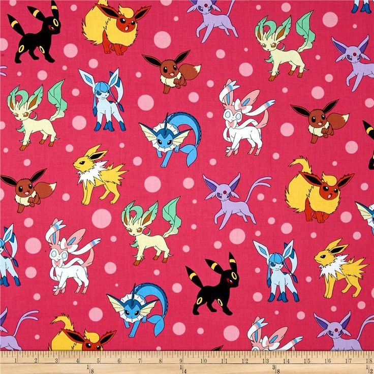 7 best paul's pokemon fabric images on pinterest | pokemon fabric