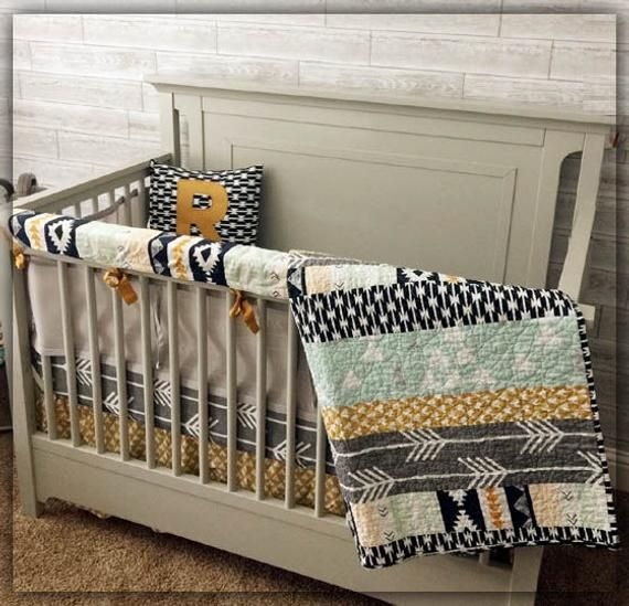 Crib Bedding Set Nursery Mini