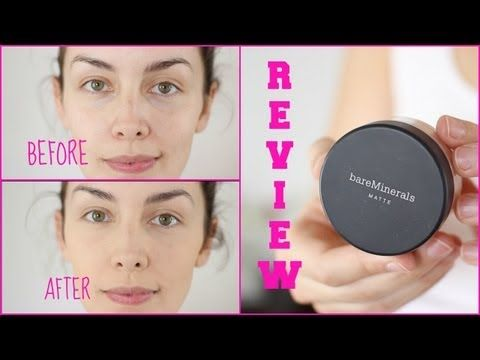 Mineral Makeup Review: Pros, Cons, Demo using BareMinerals | AmandaMuse - YouTube