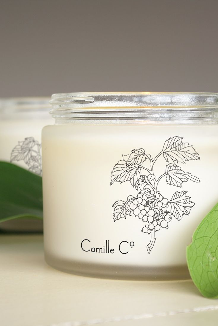Blackcurrant & Vanilla Candles by Camille Co. Luxury soy candles made in Auckland, New Zealand. Beautiful and ethical packaging design and gorgeous bespoke fragrances.