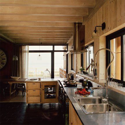 Une maison moderne à l\'authenticité d\'un chalet savoyard ...