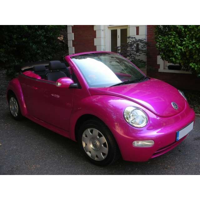 2005 Hot Pink Volkswagon Beetle - Photo (would rather have in green or yellow)