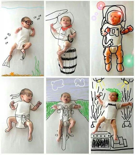 Baby-Foto-Ideen