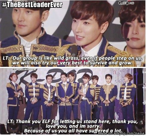Spread the love for super junior