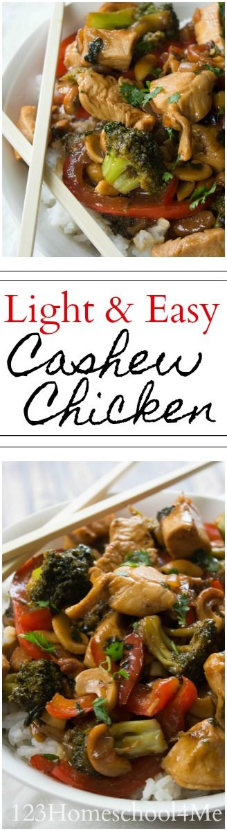 Mejores 2042 imgenes de chinese food recipes en pinterest recetas light and easy cashew chicken recipe super easy to make yummy chinese food that forumfinder Choice Image