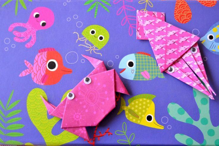 Les fonds marins en origami... :-)