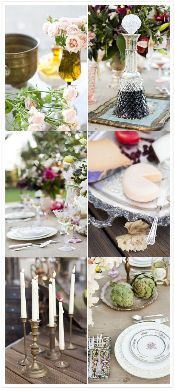 1000 Ideas About Vintage Table Settings On Pinterest