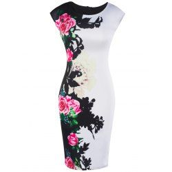 SHARE & Get it FREE | Cap Sleeve Floral Slimming DressFor Fashion Lovers only:80,000+ Items • FREE SHIPPING Join Twinkledeals: Get YOUR $50 NOW!
