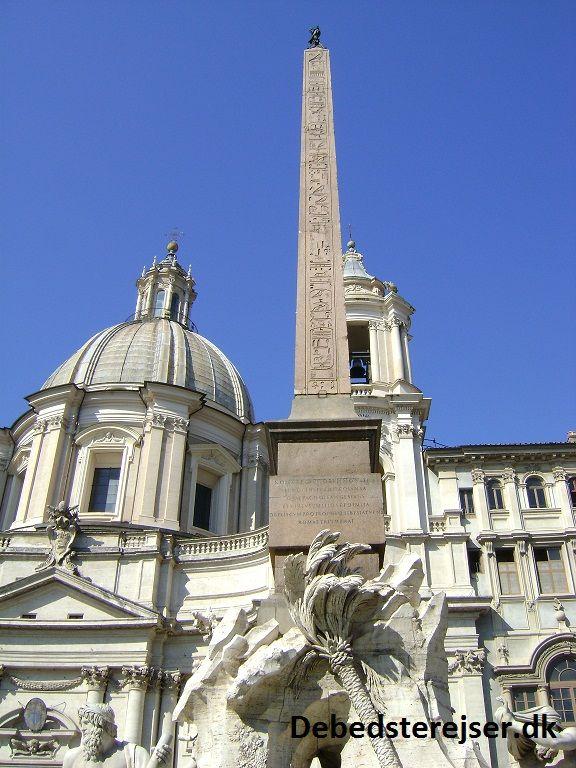 Obelisk - Piazza Navona - Rome